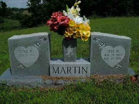 MARTIN, JESS W. - Boone County, Arkansas | JESS W. MARTIN - Arkansas Gravestone Photos