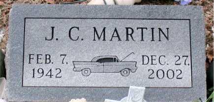 MARTIN, J.  C. - Boone County, Arkansas | J.  C. MARTIN - Arkansas Gravestone Photos