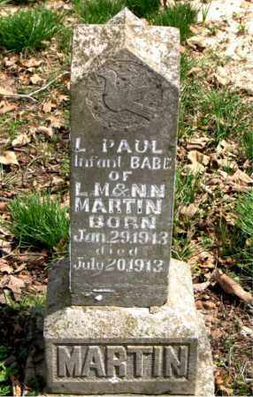 MARTIN, L.  PAUL - Boone County, Arkansas | L.  PAUL MARTIN - Arkansas Gravestone Photos