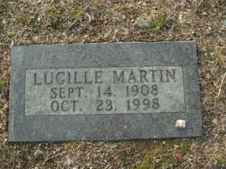 MARTIN, LUCILLE - Boone County, Arkansas | LUCILLE MARTIN - Arkansas Gravestone Photos