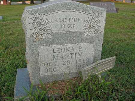 MARTIN, LEONA PEBBLE - Boone County, Arkansas   LEONA PEBBLE MARTIN - Arkansas Gravestone Photos