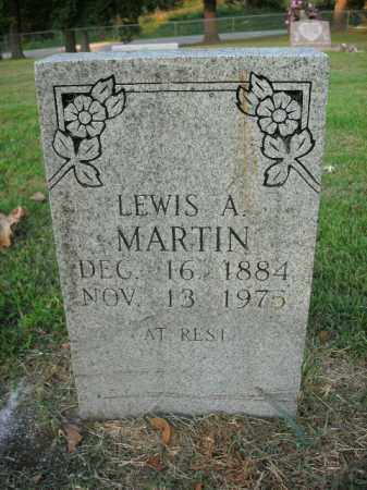 MARTIN, LEWIS ALFRED - Boone County, Arkansas | LEWIS ALFRED MARTIN - Arkansas Gravestone Photos