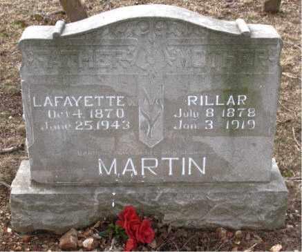 MARTIN, LAFAYETTE - Boone County, Arkansas | LAFAYETTE MARTIN - Arkansas Gravestone Photos