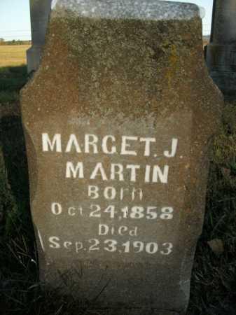 MARTIN, MARGET J. - Boone County, Arkansas | MARGET J. MARTIN - Arkansas Gravestone Photos