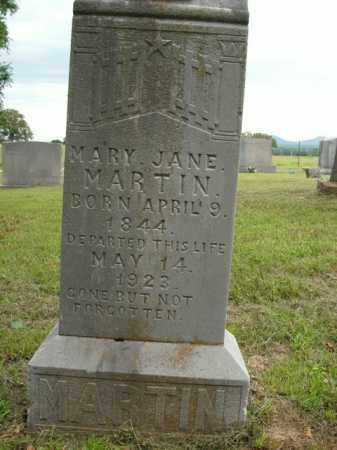MARTIN, MARY JANE - Boone County, Arkansas | MARY JANE MARTIN - Arkansas Gravestone Photos