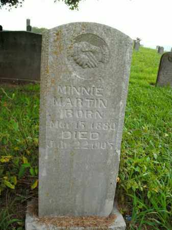 MARTIN, MINNIE - Boone County, Arkansas | MINNIE MARTIN - Arkansas Gravestone Photos