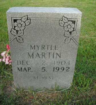 MARTIN, DOROTHY MYRTLE - Boone County, Arkansas | DOROTHY MYRTLE MARTIN - Arkansas Gravestone Photos