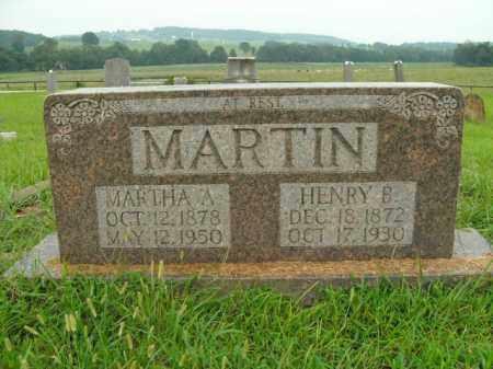 MARTIN, HENRY BENJAMIN - Boone County, Arkansas | HENRY BENJAMIN MARTIN - Arkansas Gravestone Photos