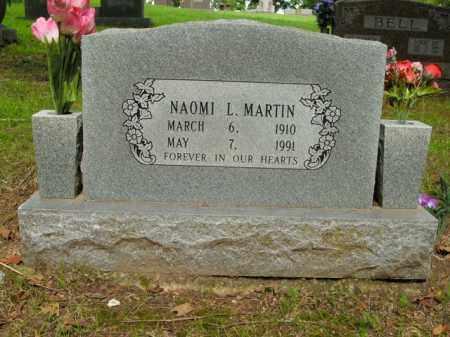 MARTIN, NAOMI L. - Boone County, Arkansas | NAOMI L. MARTIN - Arkansas Gravestone Photos