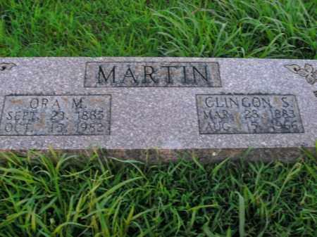 MARTIN, CLINGON SCOTT - Boone County, Arkansas | CLINGON SCOTT MARTIN - Arkansas Gravestone Photos