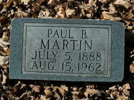 MARTIN, PAUL B. - Boone County, Arkansas | PAUL B. MARTIN - Arkansas Gravestone Photos