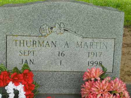 MARTIN, THURMAN A. - Boone County, Arkansas | THURMAN A. MARTIN - Arkansas Gravestone Photos