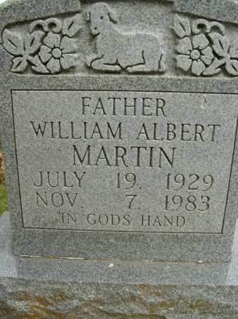MARTIN, WILLIAM ALBERT - Boone County, Arkansas | WILLIAM ALBERT MARTIN - Arkansas Gravestone Photos