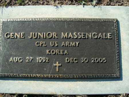MASSENGALE  (VETERAN KOR), GENE JUNIOR - Boone County, Arkansas | GENE JUNIOR MASSENGALE  (VETERAN KOR) - Arkansas Gravestone Photos