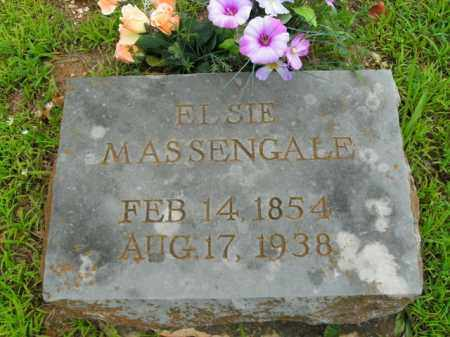 MASSENGALE, ELSIE - Boone County, Arkansas | ELSIE MASSENGALE - Arkansas Gravestone Photos