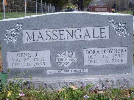 MASSENGALE, GENE J. - Boone County, Arkansas | GENE J. MASSENGALE - Arkansas Gravestone Photos