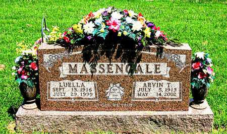 MASSENGALE, LUELLA - Boone County, Arkansas | LUELLA MASSENGALE - Arkansas Gravestone Photos