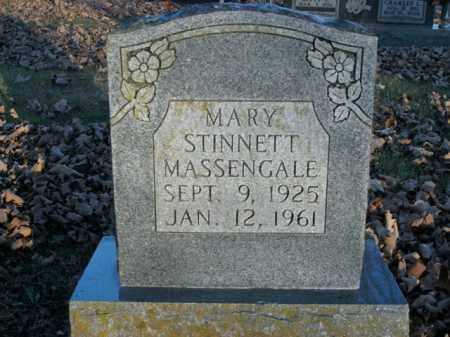 STINNETT MASSENGALE, MARY - Boone County, Arkansas | MARY STINNETT MASSENGALE - Arkansas Gravestone Photos