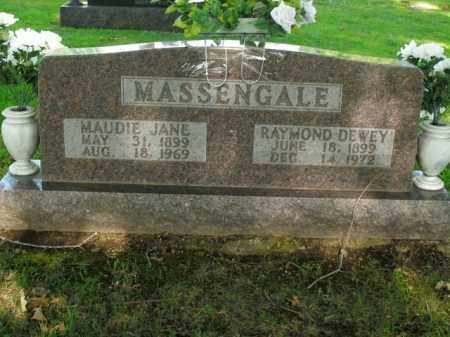 MASSENGALE  (VETERAN WWI), RAYMOND DEWEY - Boone County, Arkansas | RAYMOND DEWEY MASSENGALE  (VETERAN WWI) - Arkansas Gravestone Photos