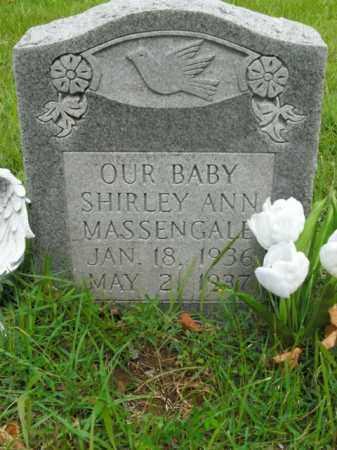 MASSENGALE, SHIRLEY ANN - Boone County, Arkansas | SHIRLEY ANN MASSENGALE - Arkansas Gravestone Photos
