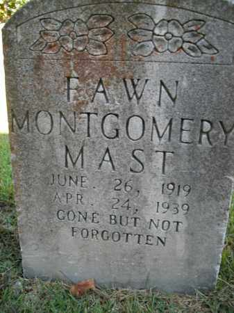 MONTGOMERY MAST, FAWN - Boone County, Arkansas | FAWN MONTGOMERY MAST - Arkansas Gravestone Photos