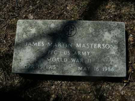 MASTERSON  (VETERAN WWII), JAMES MARTIN - Boone County, Arkansas | JAMES MARTIN MASTERSON  (VETERAN WWII) - Arkansas Gravestone Photos