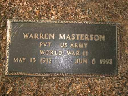 MASTERSON  (VETERAN WWII), WARREN - Boone County, Arkansas | WARREN MASTERSON  (VETERAN WWII) - Arkansas Gravestone Photos