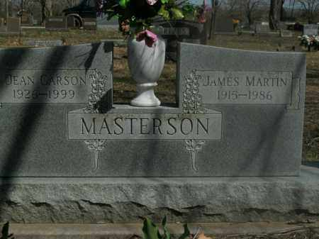 MASTERSON, JAMES MARTIN - Boone County, Arkansas | JAMES MARTIN MASTERSON - Arkansas Gravestone Photos