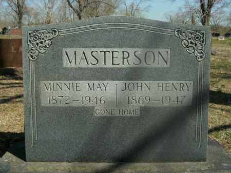 MASTERSON, MINNIE MAY - Boone County, Arkansas | MINNIE MAY MASTERSON - Arkansas Gravestone Photos