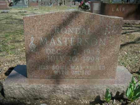 MASTERSON, RONDAL - Boone County, Arkansas | RONDAL MASTERSON - Arkansas Gravestone Photos