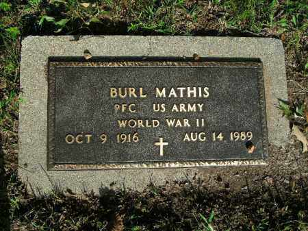 MATHIS  (VETERAN WWII), WILLIAM BURL - Boone County, Arkansas | WILLIAM BURL MATHIS  (VETERAN WWII) - Arkansas Gravestone Photos
