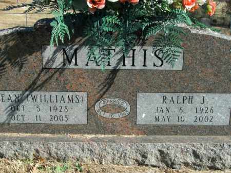 MATHIS, RALPH J. - Boone County, Arkansas | RALPH J. MATHIS - Arkansas Gravestone Photos