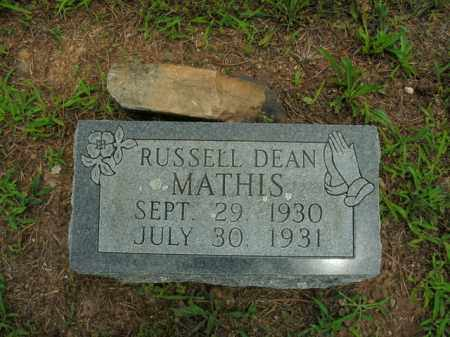 MATHIS, RUSSELL DEAN - Boone County, Arkansas | RUSSELL DEAN MATHIS - Arkansas Gravestone Photos