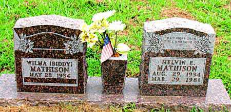 MATHISON, MELVIN E. - Boone County, Arkansas | MELVIN E. MATHISON - Arkansas Gravestone Photos