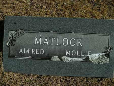 MATLOCK, MOLLIE - Boone County, Arkansas | MOLLIE MATLOCK - Arkansas Gravestone Photos