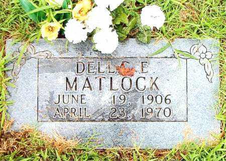 MATLOCK, DELLA E. - Boone County, Arkansas | DELLA E. MATLOCK - Arkansas Gravestone Photos