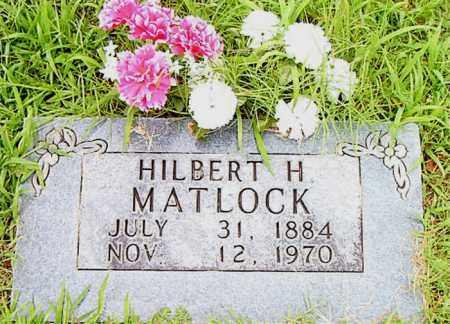 MATLOCK, HILBERT  H. - Boone County, Arkansas | HILBERT  H. MATLOCK - Arkansas Gravestone Photos