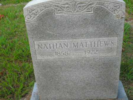 MATTHEWS, NATHAN - Boone County, Arkansas | NATHAN MATTHEWS - Arkansas Gravestone Photos