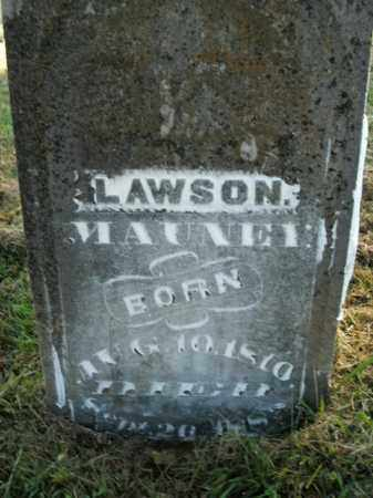 MAUNEY, LAWSON - Boone County, Arkansas | LAWSON MAUNEY - Arkansas Gravestone Photos