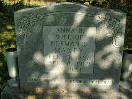 MAXEY, ANNA BELLE - Boone County, Arkansas | ANNA BELLE MAXEY - Arkansas Gravestone Photos