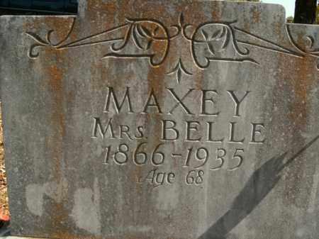 MAXEY, BELLE - Boone County, Arkansas | BELLE MAXEY - Arkansas Gravestone Photos