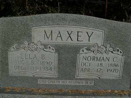 MAXEY, NORMAN C. - Boone County, Arkansas | NORMAN C. MAXEY - Arkansas Gravestone Photos