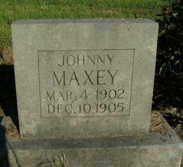 MAXEY, JOHNNY - Boone County, Arkansas | JOHNNY MAXEY - Arkansas Gravestone Photos