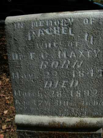 MAXEY, RACHEL M. - Boone County, Arkansas | RACHEL M. MAXEY - Arkansas Gravestone Photos