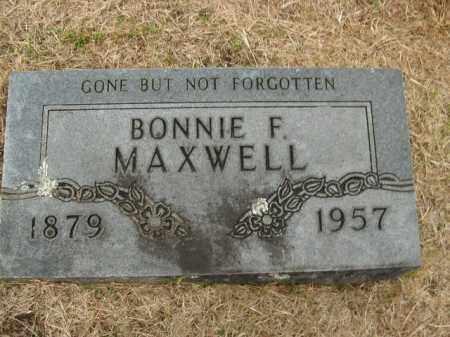 MAXWELL, BONNIE F. - Boone County, Arkansas | BONNIE F. MAXWELL - Arkansas Gravestone Photos