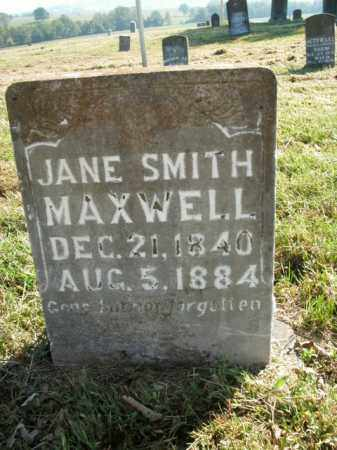 SMITH MAXWELL, JANE - Boone County, Arkansas | JANE SMITH MAXWELL - Arkansas Gravestone Photos