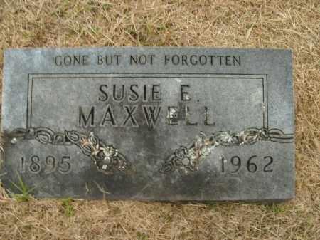 MAXWELL, SUSIE E. - Boone County, Arkansas | SUSIE E. MAXWELL - Arkansas Gravestone Photos