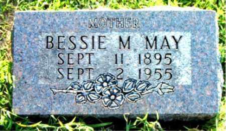 MAY, BESSIE  M. - Boone County, Arkansas | BESSIE  M. MAY - Arkansas Gravestone Photos