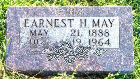 MAY, EARNEST  H. - Boone County, Arkansas | EARNEST  H. MAY - Arkansas Gravestone Photos