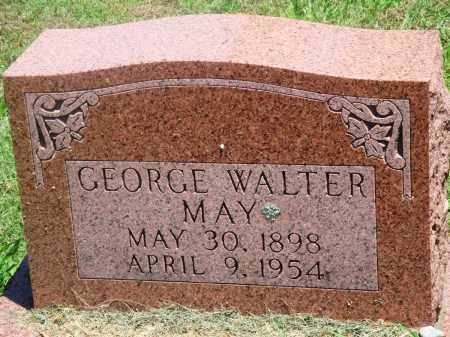 MAY, GEORGE WALTER - Boone County, Arkansas | GEORGE WALTER MAY - Arkansas Gravestone Photos